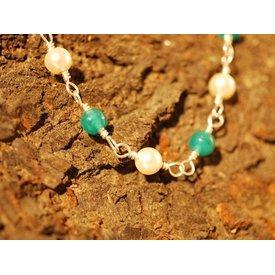 römisch Perlenkette Claudia