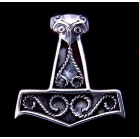 Silber Norse Thors Hammer