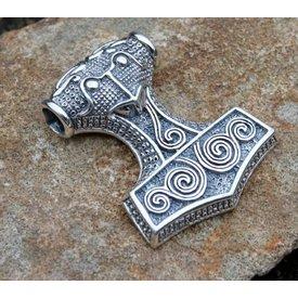 Thors Hammer aus Schonen, Silber