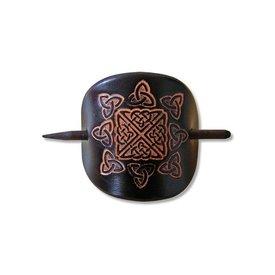 Keltische Haarnadel Nuala Schwarz