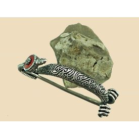 Keltische Fibula Bern Silber