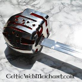 Deepeeka Basket Hilted Breitschwert Culloden, Glasgow Korb