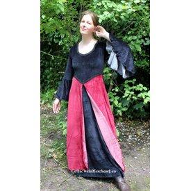 Kleid Niamh Rot-Schwarz