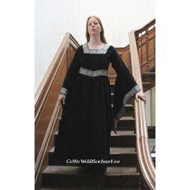 Kleid Anna Boleyn Schwarz