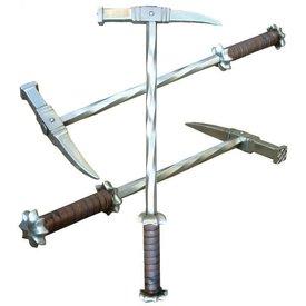 Fabri Armorum Stahl Kriegshammer
