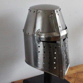 Crusaders Helm mit Kreuz