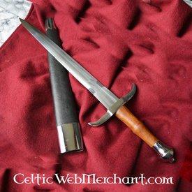Deepeeka Kurz Schwert mit gebogenen Parierstange