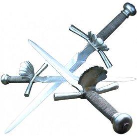 Main-gauche mit schalenförmigen guard