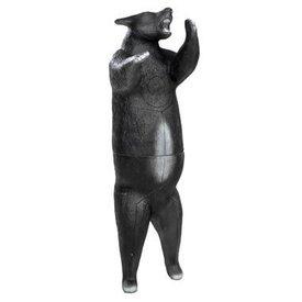FB 3D stehen Schwarz Bär