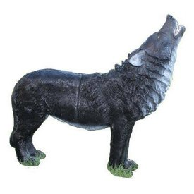 FB 3D heulender Wolf