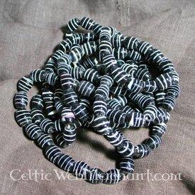 Perle Malmfred schwarz (Set von 10)