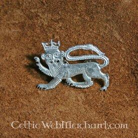 Mittelalterliche Löwe Abzeichen