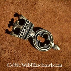Gothic Gürtelendbeschlag 3 cm