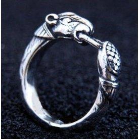 Odins Wölfe, Silber Ring