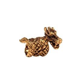Bronze Drachen Bart Wulst