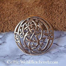 Bronze Urnes Stil Wikinger Brosche