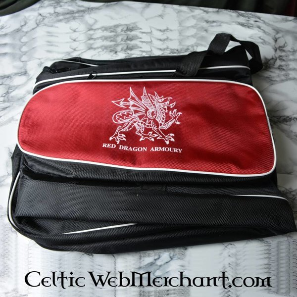 Red dragon Schwert Tasche