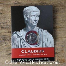 römisch Denar Claudius packen