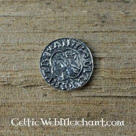 Wikinger Münze Knut König der Danelaw