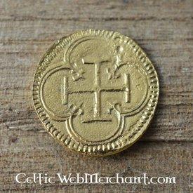Spanisch Zwei Escudos Münze Phillip II