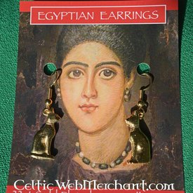 Ägyptische Katze Ohrringe