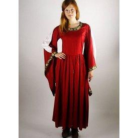 Edel bestickten Kleid Loretta, Rot