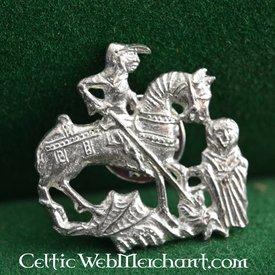 14. Jahrhundert Abzeichen George und der Drache