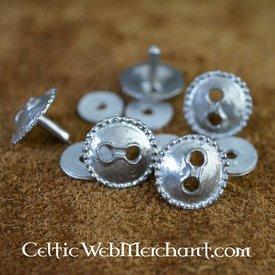 Crotal Glocke Gürtelbeschlag (Satz von 5 Stück)