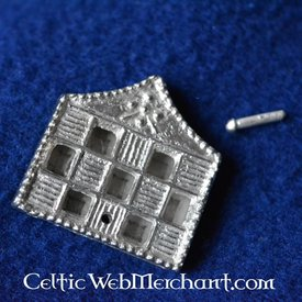15. Jahrhundert Gurtzunge mit Würfelmotiv