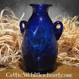 römisch Glas Amphora Blau