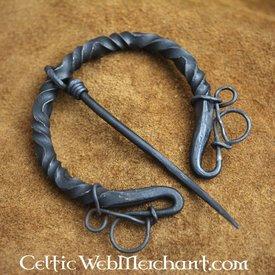 Luxuriöse Eisen Ring Brosche