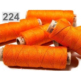 Leinengarnimporte Orange 50 m