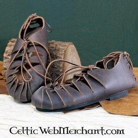 Leder Eisenzeit Sandalen