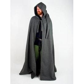 Mittelalterlicher Mantel mit Kapuze