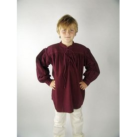 mittelalterlich Jungen Hemd