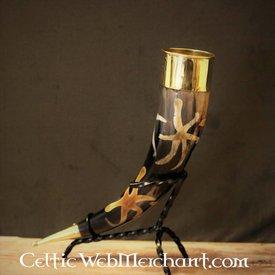 Lord of Battles mit Sonnenmotiv Trinkhorn