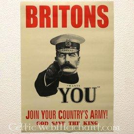 Poster Lord Kitchener wünscht Ihnen