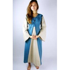 Zwei-Farben-mittelalterliches Kleid Marigold
