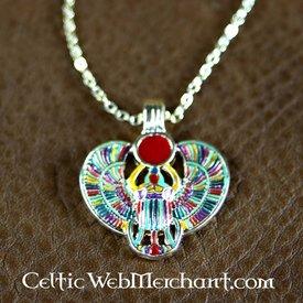 Ägyptische Skarabäus Halskette