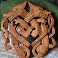 Historisches Holzschnitzwerk