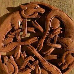 Keltisches & heidnisches Schnitzwerk