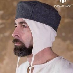 (Früh)mittelalterliche Kopfbedeckung