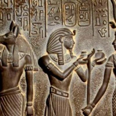 Ägyptische Reliefs