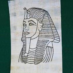 Papyrus-Ausmalbilder & Papyrusrollen