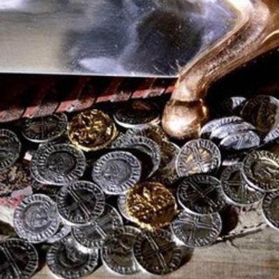 Wikinger und angelsächsische Münzen
