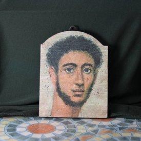 Mumie-Porträt eines jungen Mannes