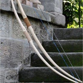 "Marksman bow Re-enactment / LARP, 58"" (147 cm), hellbraun, 25 lbs"
