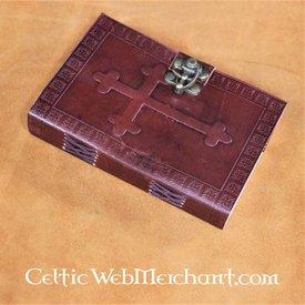 House of Warfare Lederbuch mit mittelalterlichem Kreuz