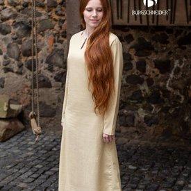 Burgschneider Mittelalterliches Kleid Elisa, Naturell