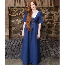 Burgschneider Mittelalterliches Kleid Frideswinde Blau